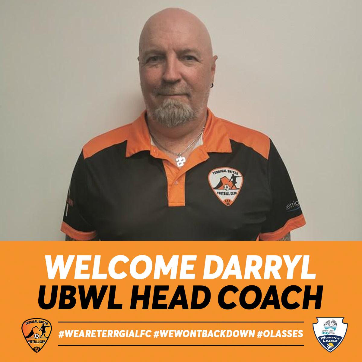 UBWL Head Coach Announcement:  Darryl Darke