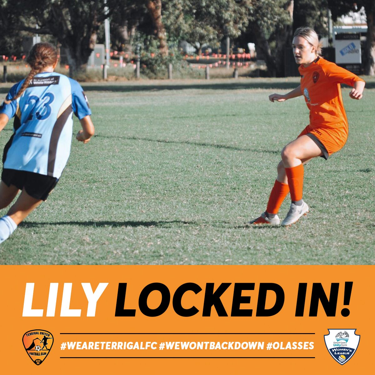 Lily Locked In