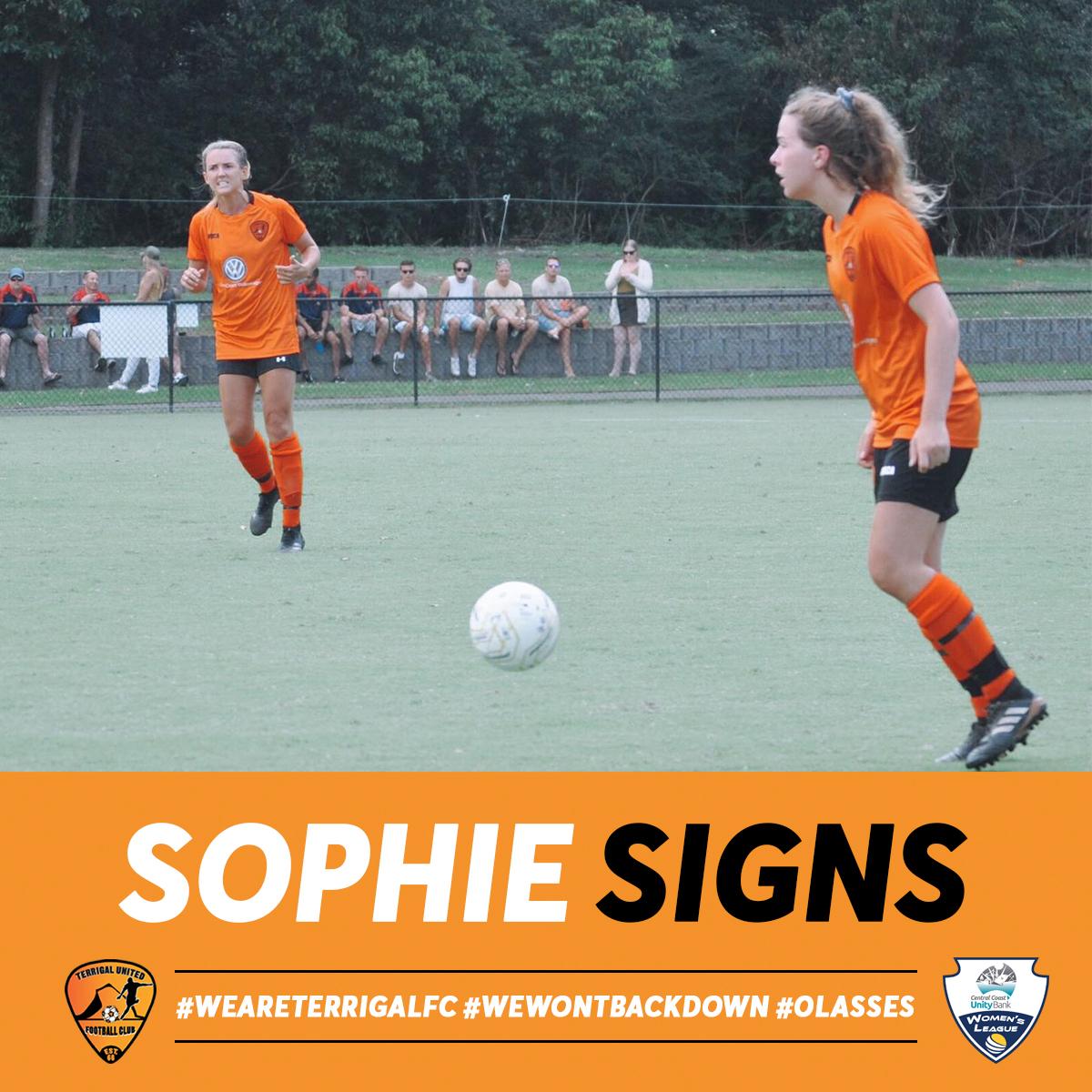 Sophie Signs