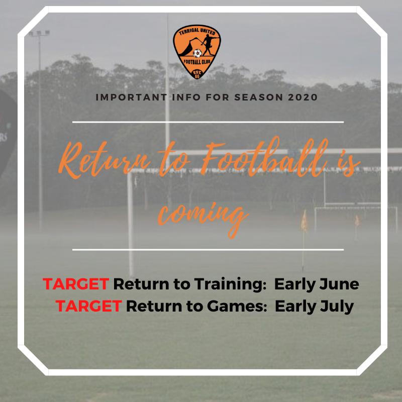 Return to Football Update