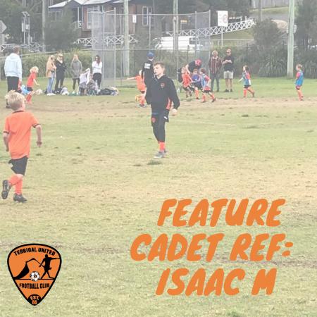 Feature Cadet:  Isaac M