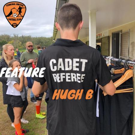 Feature Cadet:  Hugh B