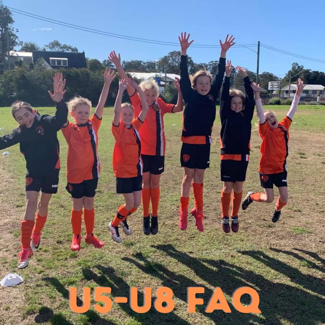 U5-U8 Players and Teams  FAQ