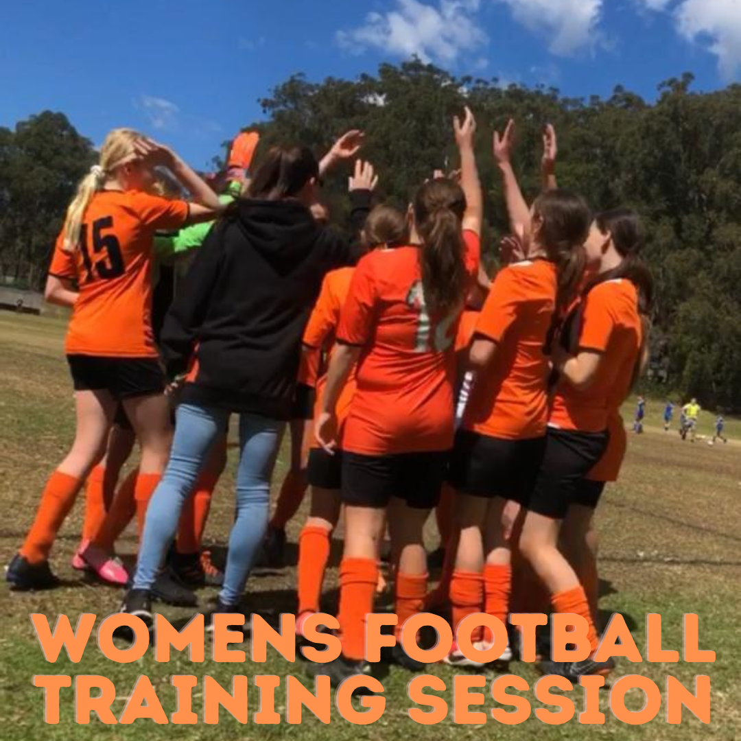 Junior Women's Football Training