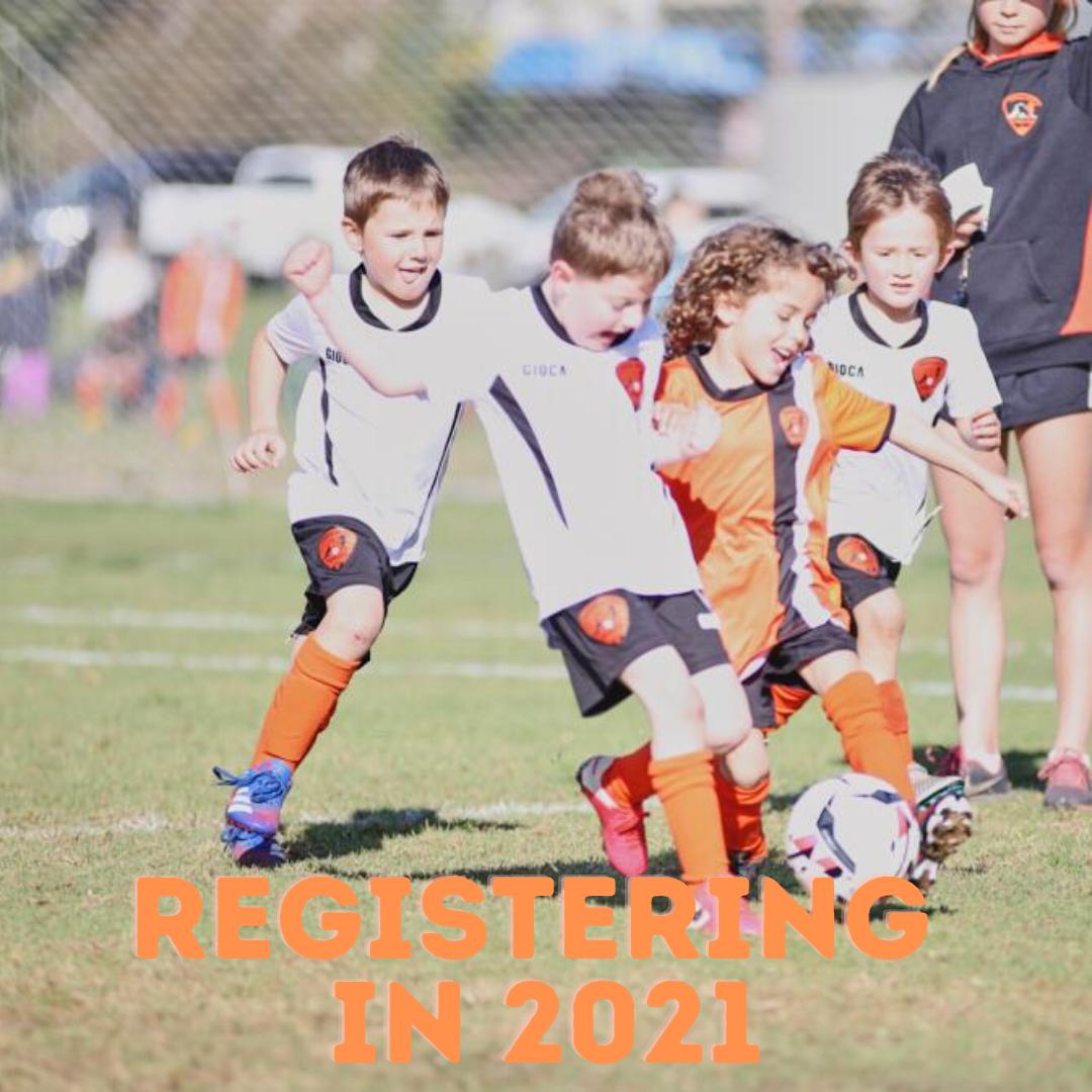 Registering for TUFC in 2021